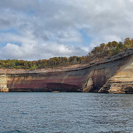 Pictured Rocks by John M Bailey