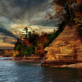 Pictured Rocks National Park by Evie Carrier