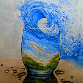 A Glass Of Ocean by Faye Anastasopoulou
