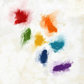 Piece Of The Rainbow- Art by Linda Woods by Linda Woods