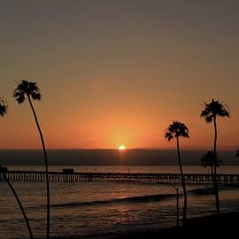 Pier Sunset by Brian Eberly