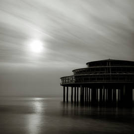 Pier Sunset by Dave Bowman