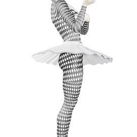 Pierrette clown by Quim Abella by Joaquin Abella