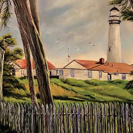 Lorraine Wilcox - Pigeon Point Lighthouse, Pescadero CA January 2019