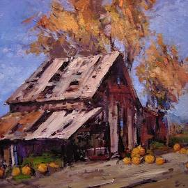 Pile em up by the barn by R W Goetting