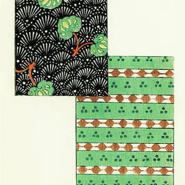 Pine tree Japanese traditional pattern design