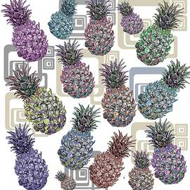 Pineapple Pattern  by Marshal James