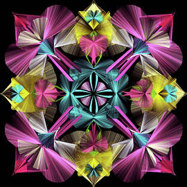 Pink Beauty-Mandala by Grace Iradian