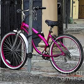 Pink Bicycle by Paul Wilford