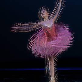 Pink Dancer  - Paintography by Dan Friend