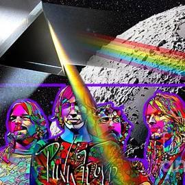 Pink Floyd Dark Side of the Moon by Sergio Dino-Guida