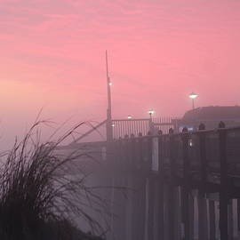 Pink Fog At Dawn by Robert Banach