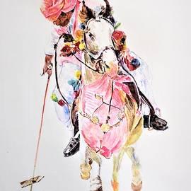 Pink matching by Khalid Saeed