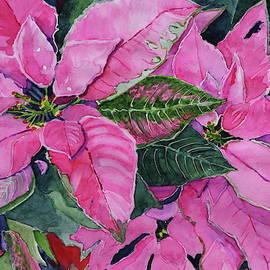 Pink Poinsettias by Patty Strubinger