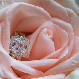 - Pink Rose and Diamond