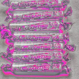 Pink Smarties  by Heather Estrada