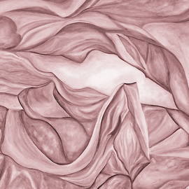 Pink1. Pastel tone. The Beginning. Colorful and over 30 Monochromatic. by SurfArtTango Marina Lisovaya