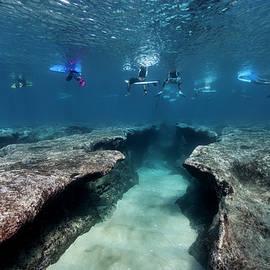 Pipeline's Cruel Reef by Sean Davey