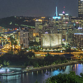 Pittsburgh Lights by David R Robinson