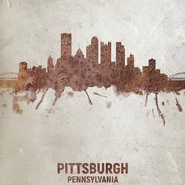 Michael Tompsett - Pittsburgh Pennsylvania Rust Skyline