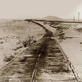 Plank Road In Imperial County, California,  by California Views Archives Mr Pat Hathaway Archives