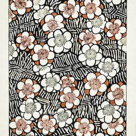 Plum Blossom - Japanese traditional pattern design