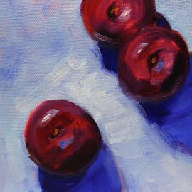 Plum Trio by Nancy Merkle