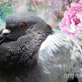 Plump Pigeon by Trudee Hunter
