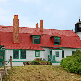 Point Betsie Lighthouse by Sally Weigand