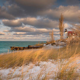 Point Betsie Lighthouse by Thomas Gaitley