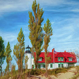 Point Betsie Lighthouse by Trey Foerster