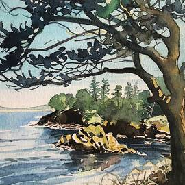 Point Lobos Bay by Luisa Millicent
