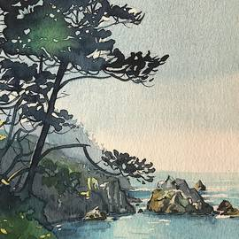 Point Lobos by Luisa Millicent