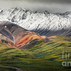 Polychrome Mountain, Denali NP, Alaska by Lyl Dil Creations