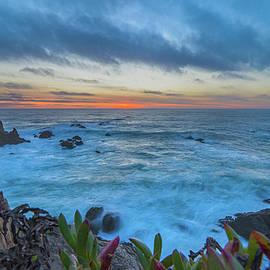 Pomo Bluffs Sunset - 3 by Jonathan Hansen