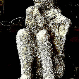 Pompeii. Ancient plaster cast by Andy Za