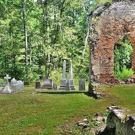 Pon Pon Chapel Of Ease And Cemetery Jacksonboro South Carolina by Lisa Wooten