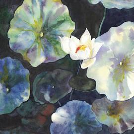 Pond at Night by Hiroko Stumpf