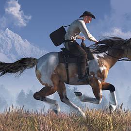 Pony Express Rider by Daniel Eskridge