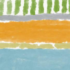 Poolside 1- Art By Linda Woods by Linda Woods
