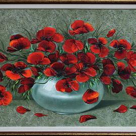 Poppies by Alexander Jazykov