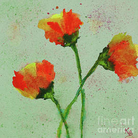 Poppies by Karen Fleschler