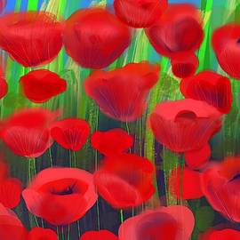 Popping Poppies by Susan McGillicuddy