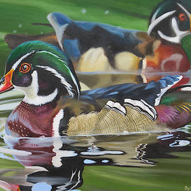 Pops Pond by Phyllis Beiser