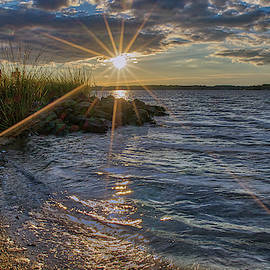 Poquoson Sunset II by Jerry Gammon