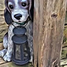 Porch Doggie by Deborah Selib-Haig DMacq