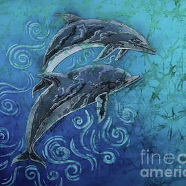 Porpoise Pair by Sue Duda