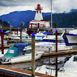 Port Alberni Vancouver Island by Bob Christopher