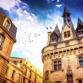 Porte Cailhau Bordeaux France  by Carol Japp
