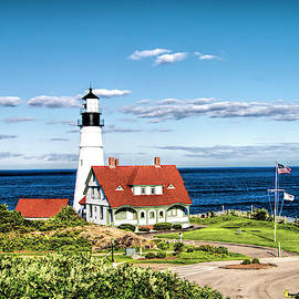 Portland Head Lighthouse Two by Phyllis Taylor
